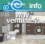 Panasonic Bathroom Fans Info - Why Ventilation is Necessary