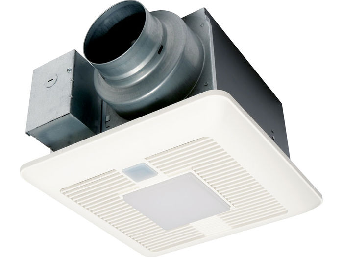 "Panasonic Fans - WhisperSense® DC - FV-0511VQCL1 - Precision Spot Bathroom Ventilation Fan Smart Sensing & Light - 50-80-110 CFM - 4"" or 6"" Inch Duct"