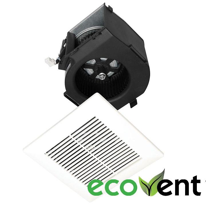 Panasonic Fans   EcoVent   FV 07VBB1 Finish Trim Kit 70 CFM Motor  Grille. Panasonic Exhaust Fans   Wave Plumbing