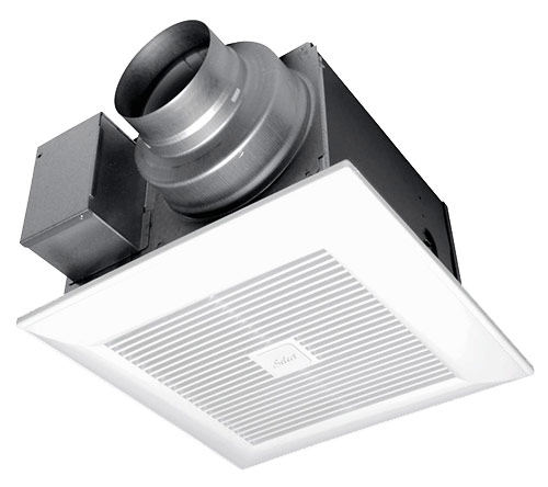"Panasonic Fans - WhisperGreen Select - FV-0511VK2 Pick-A-Flow Bathroom Exhaust Fan - 50-80-110 cfm - Single Speed - 4"" & 6"" Duct"