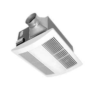 Panasonic Fans Whisperwarm Fv 11vh2 Bathroom Exhaust Fan Heat 110 Cfm 0 6 Sones