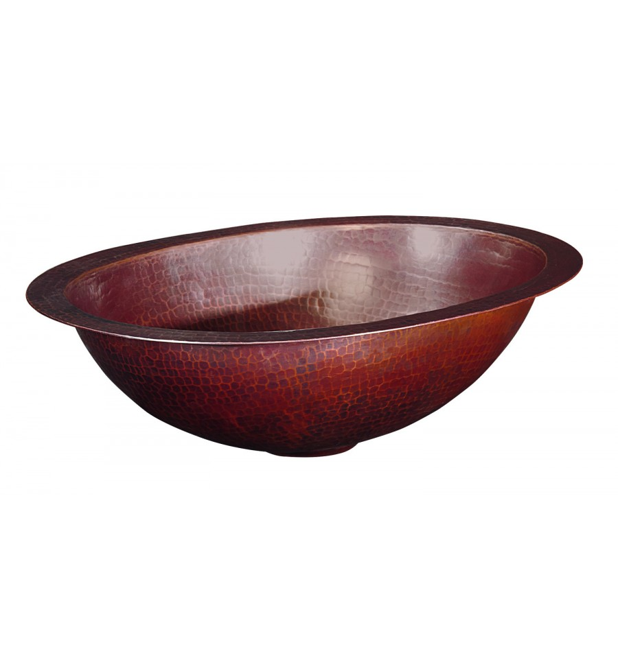 Thompson Traders Sinks - Bathroom Sinks - Copper - Huacana - BOU-1209BC - Aged Copper Finish