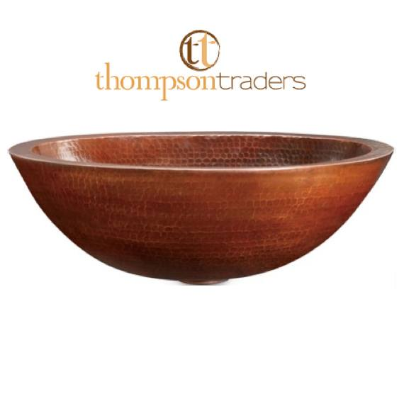 Thompson Traders Sinks - Bathroom - Copper - Limited Editions Prana - PBC Copper Double Wall Vessel