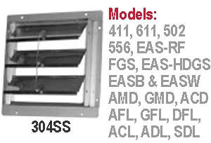 S&P Soler & Palau Commercial - Louvers, Shutters and Dampers