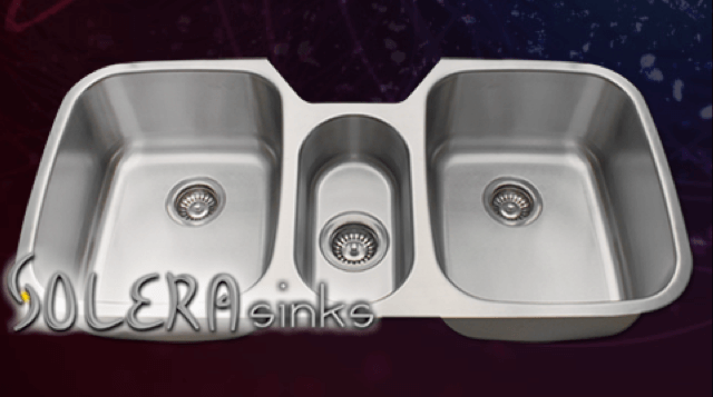 Solera Sinks - Kitchen - Stainless Steel S124 Kitchen Sink
