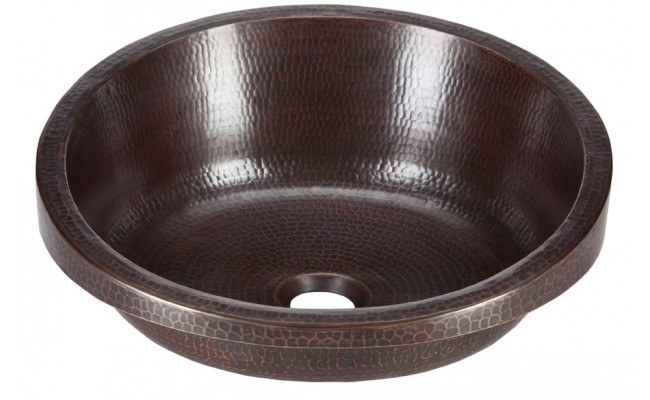 Thompson Traders Sinks - Bathroom - Copper - Legacy Collection RSDW-BC Modigliani Black Copper Bath Sink