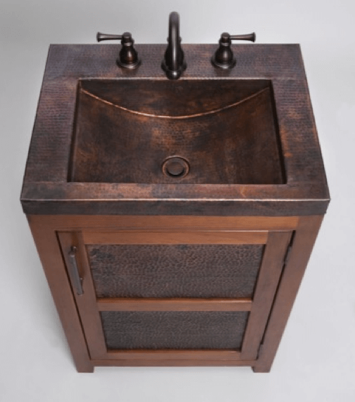Rustic Bathroom Sinks : Thompson Traders Bathroom Furniture & Sink Vanities (5)